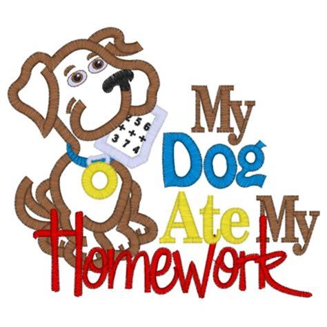 Dog ate my homework